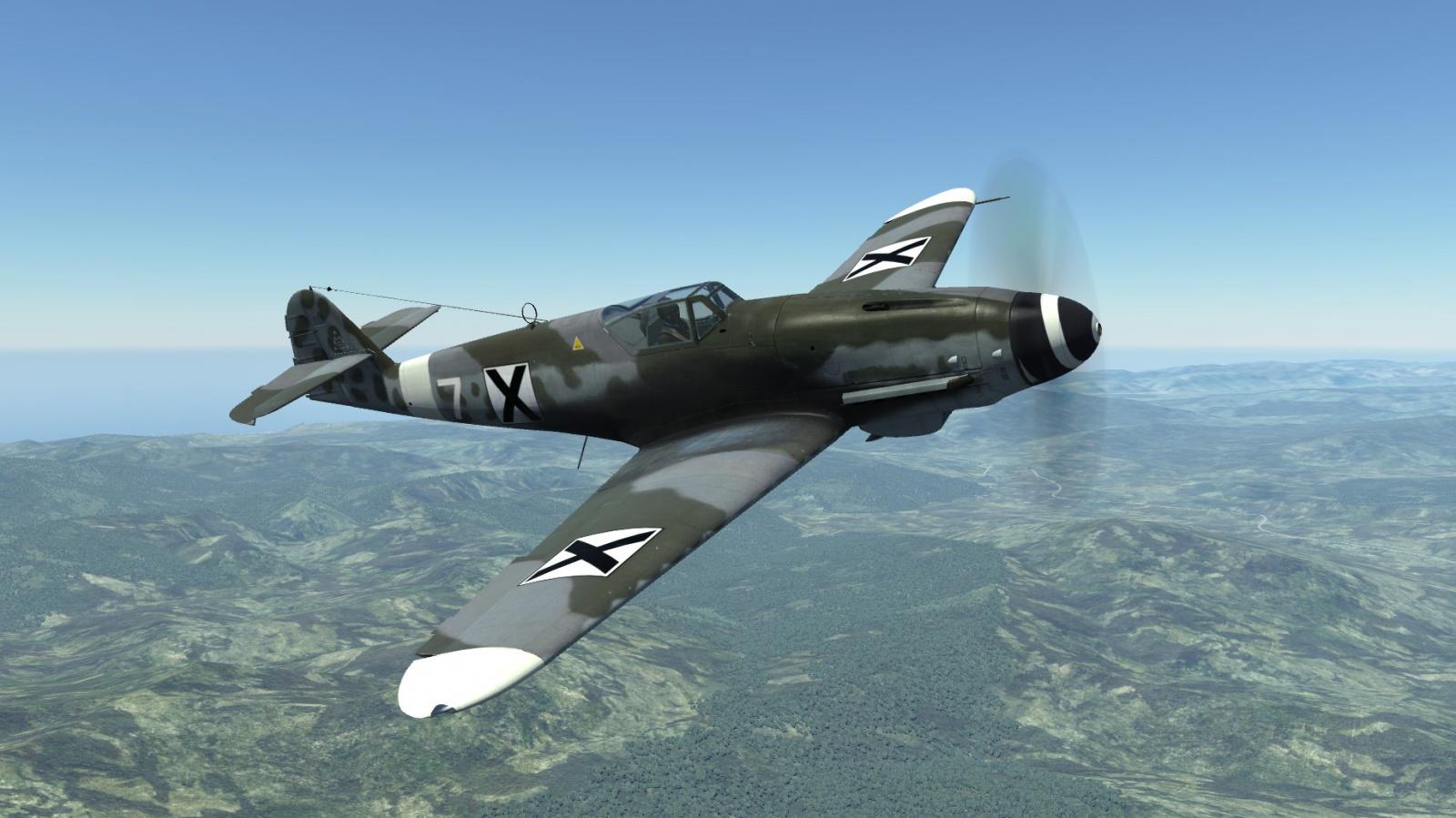 Скин за Bf-109 K-4 Kurfurst