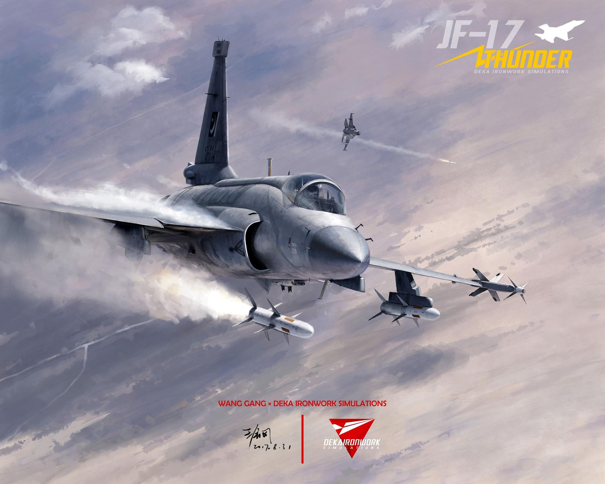 DCS JF-17 от Deka Ironworks – LS-6 и C-701T