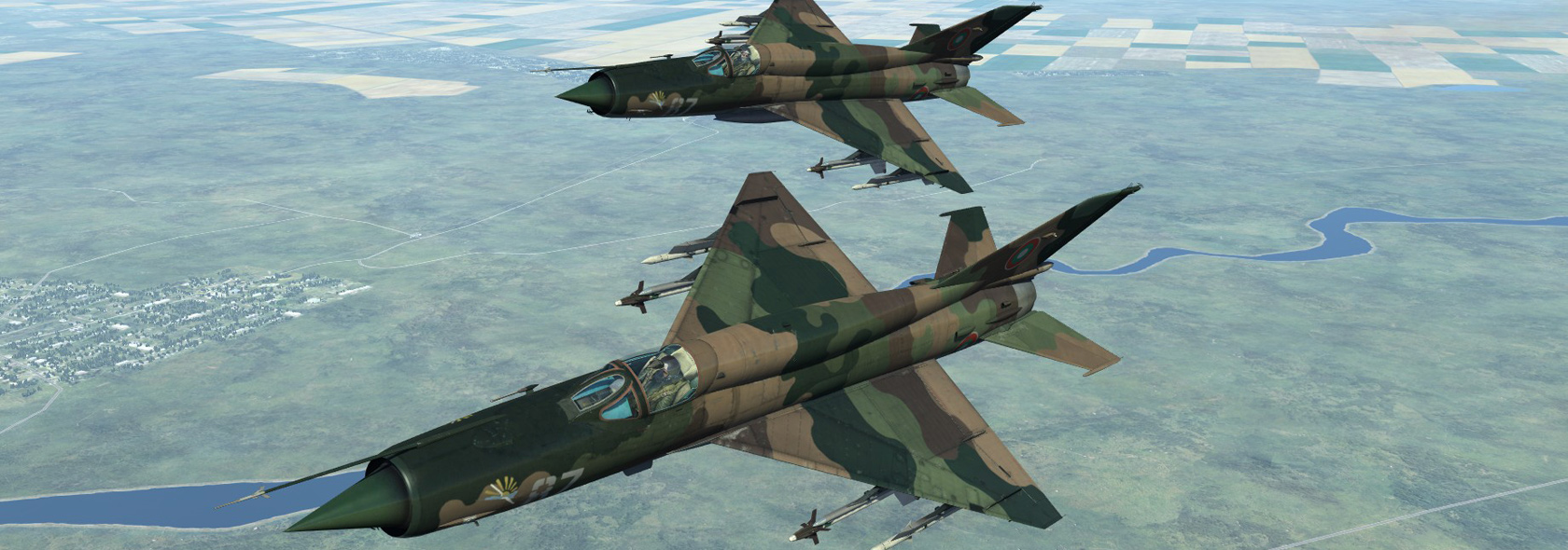 MiG-21bis test skins for DCS 1.5.3.x