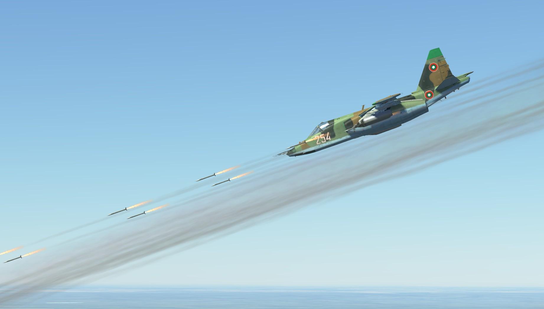 Bulgarian Su-25 skin
